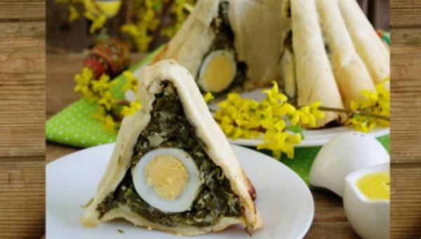 Najlepsze przepisy blogerów: Wielkanocna baba z jajkami