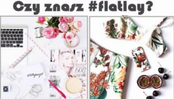 20 najciekawszych zestawów modowych z hashtagiem #flatlay na Instagramie