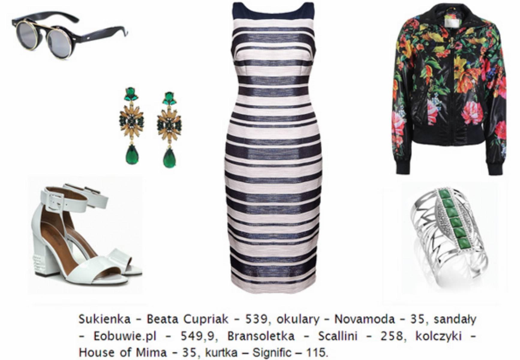 jak-nosic-sukienke-we-wzory---paski