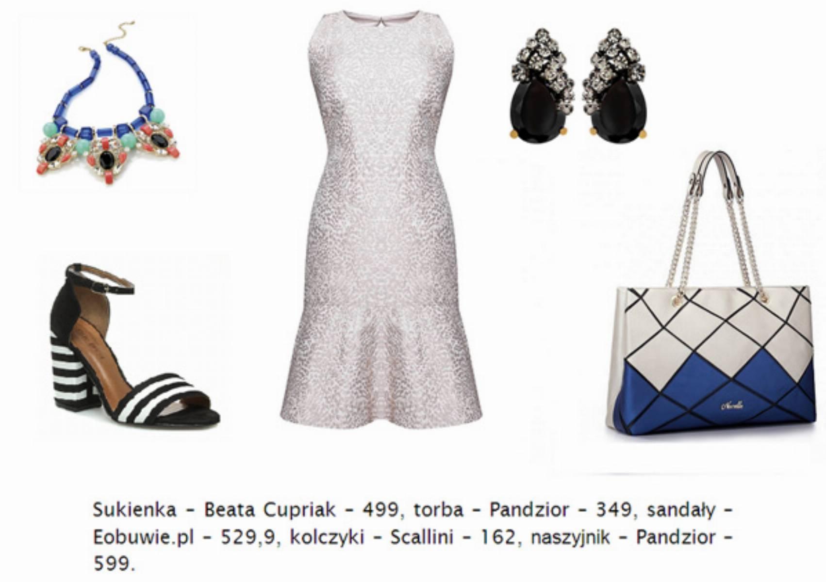 jak-nosic-sukienke-we-wzory--sukienka-blyszczaca