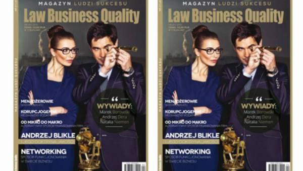 JUŻ JUTRO! Premiera nowego tytułu Law Business Quality