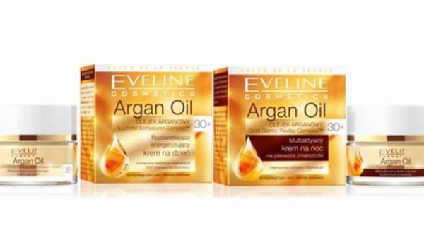 Nowść od Eveline Cosmetics na pierwsze zmarszczki: seria Argan Oil 30+
