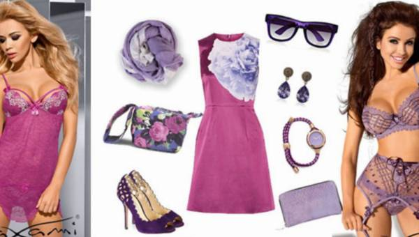 Kusząca fioletowa bielizna – idealna na kolorowe lato!