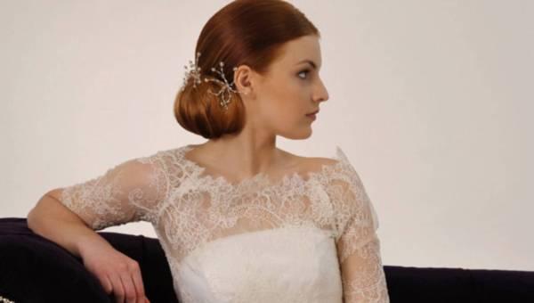 Modne fryzury ślubne