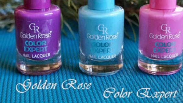 Nowość rynkowa: lakiery Color Expert od Golden Rose
