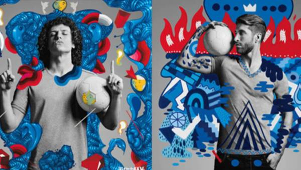 "Znani piłkarze + fotograf + street art = PEPSI ""The Art of Football"""