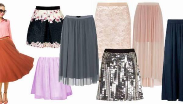 Mini, midi, maxi: modne spódnice na lato 2014 – przegląd