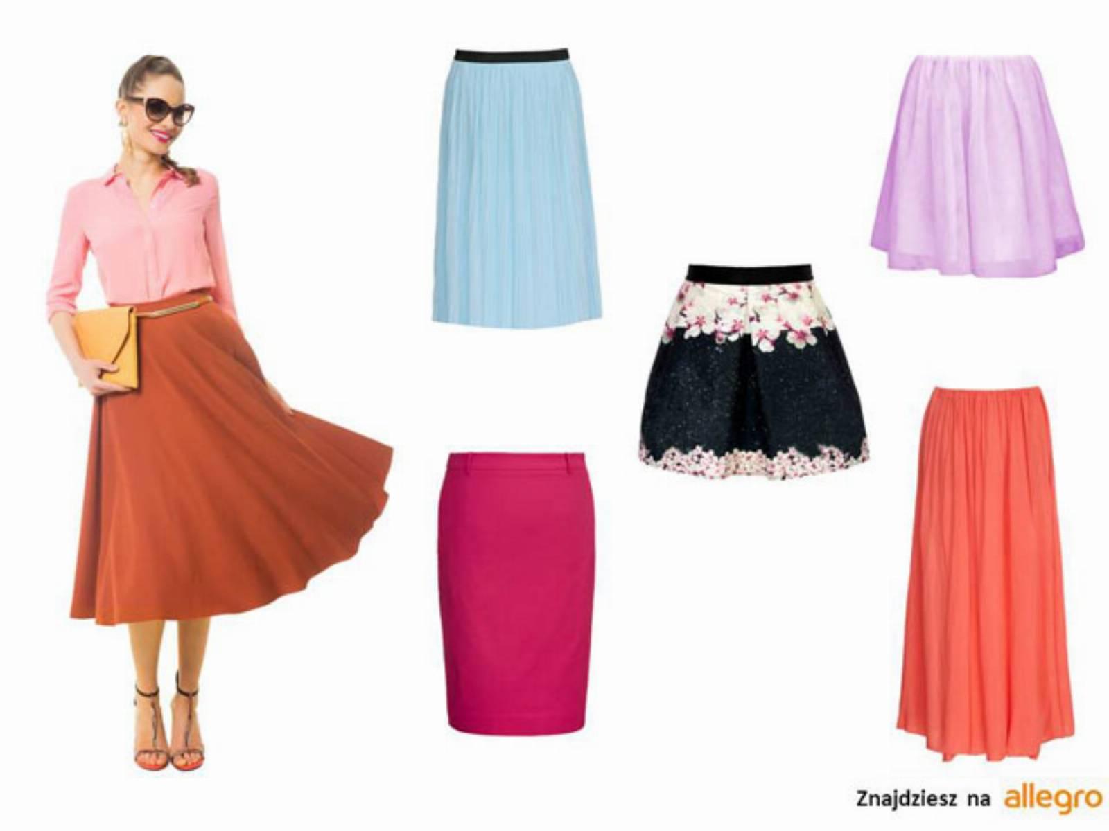Mini, midi, maxi: modne spódnice na lato 2014 przegląd