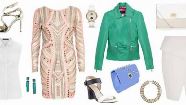 Jak zestawiać słodkie pastele – moda wiosna/lato 2014
