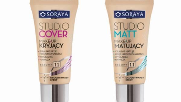 Nowość Soraya: Kryjący make-up STUDIO COVER oraz Matujący make-up STUDIO MATT