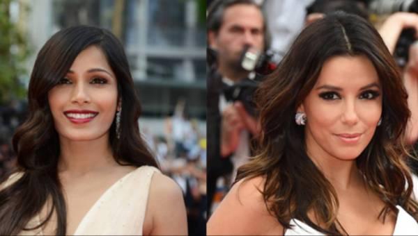 Makijaż prosto z Cannes – umaluj się jak Frieda Pinto lub Eva Longoria