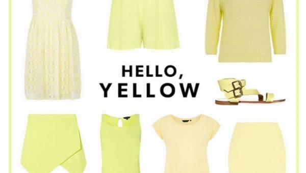 Cytrynowy – idealny kolor na lato