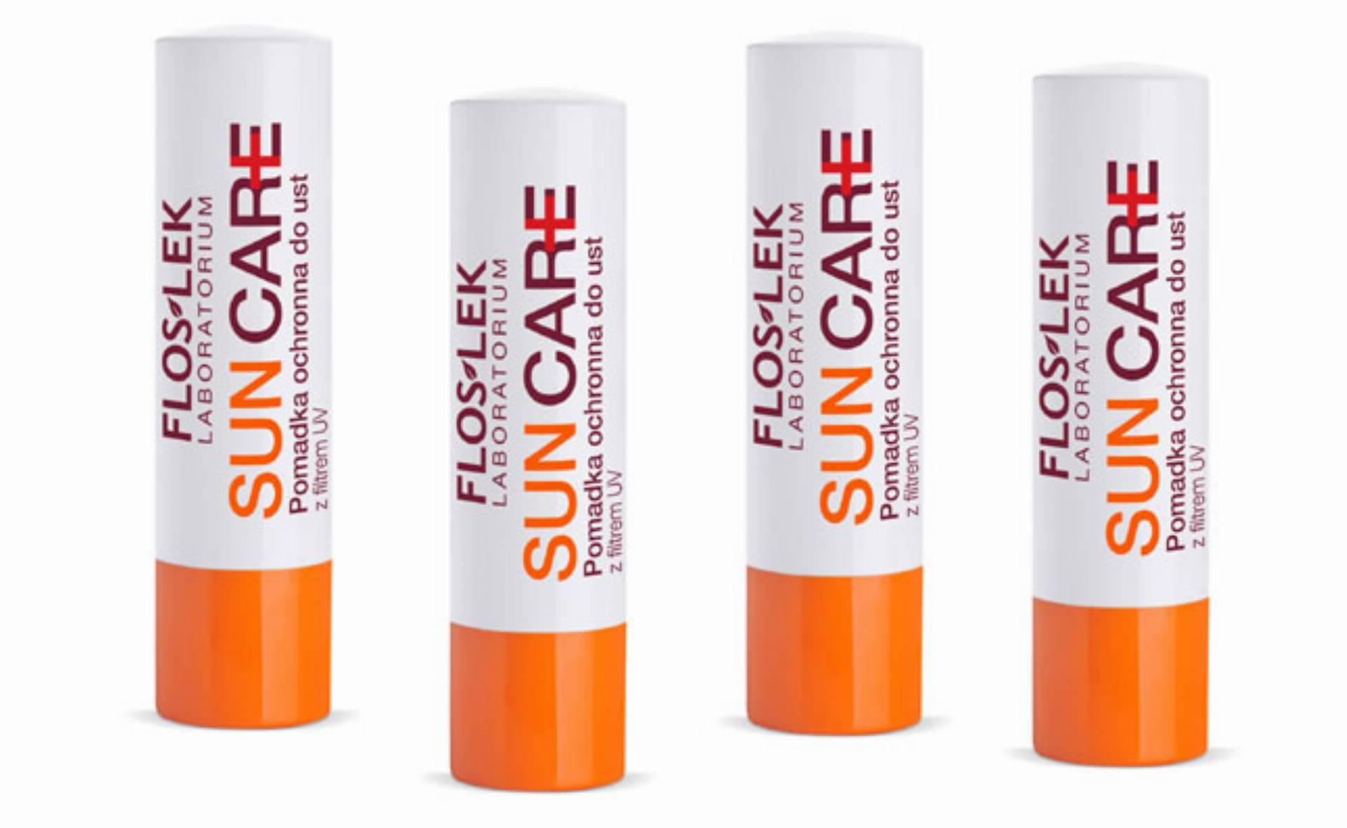 Nowość: Pomadka ochronna do ust z filtrem UV od Floslek – letnie SOS