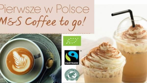 Pierwsze w Polsce M&S Coffee to go! Wypij na miejscu lub weź do domu
