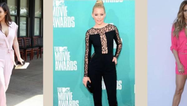 Gwiazdorskie kombinacje – czyli kombinezony na lato 2014 od Beyonce, Jennifer Lopez
