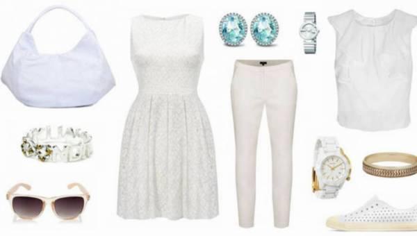 Śnieżna królowa latem – 3 stylizacyjne pomysły na biel