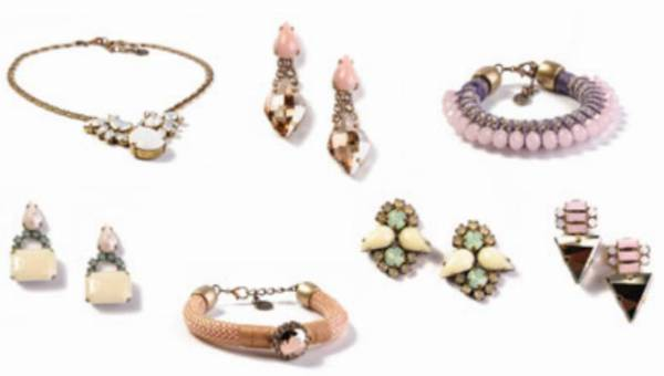 Pastele kolekcji biżuterii Eleni Dimitriadis