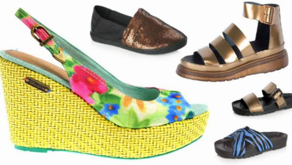Modne buty na lato 2014 – mini przegląd