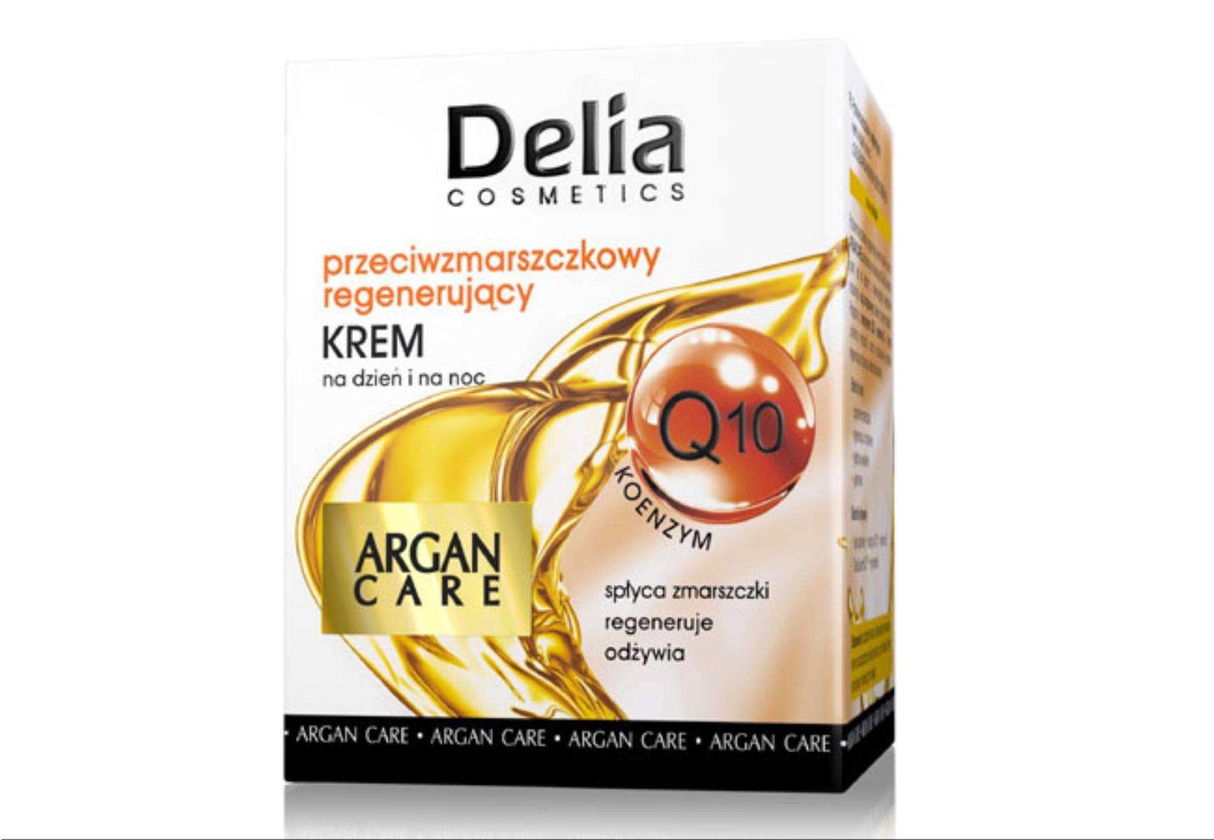 Delia Cosmetics - krem przeciwzmarszczkowy regenerujacy Argan Care