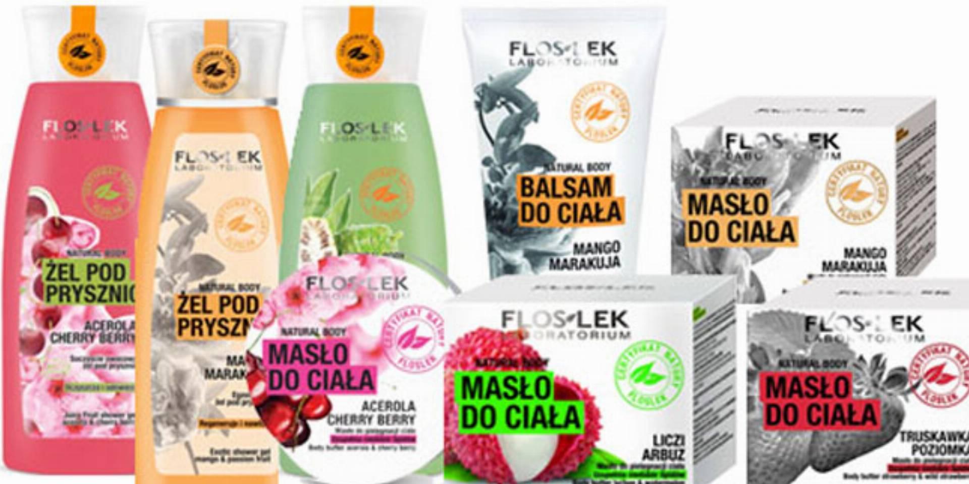FLOSLEK- kosmetyki Natural Body