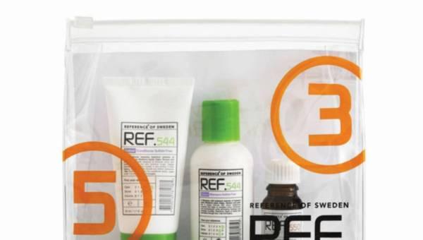 Zestaw pierwszej pomocy dla włosów od REF