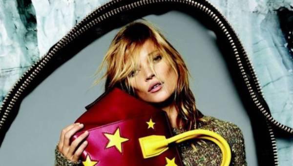 Kate Moss dla Stelli McCartney w kolekcji na sezon jesień-zima 2014/2015