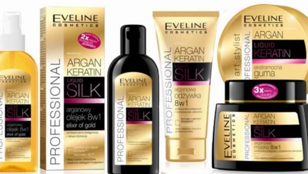 Nowa seria Argan • Keratin • Liquid Silk do pielęgancji włosów od Eveline Cosmetics
