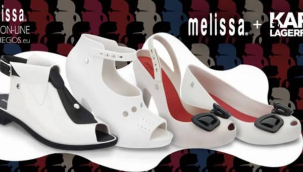 Karl Lagerfeld dla Melissa w Hego's Milano
