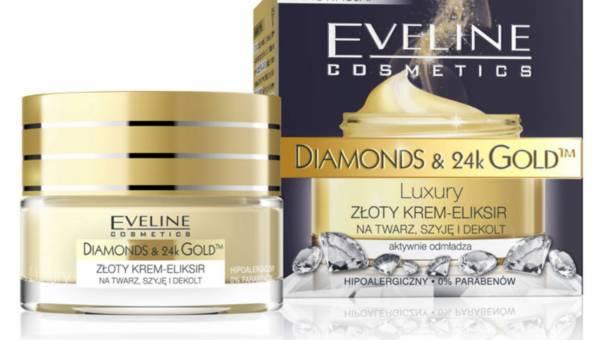 Nowość: DIAMONDS & 24k GOLD – Luxury ZŁOTY KREM-ELIKSIR NA TWARZ, SZYJĘ I DEKOLT