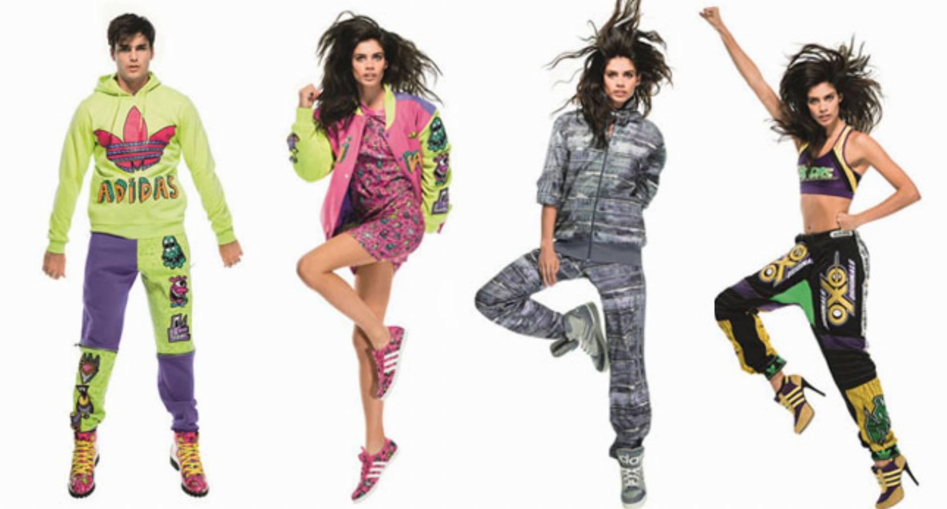 Kolekcja adidas Originals od Jeremy Scott jesień zima 2014