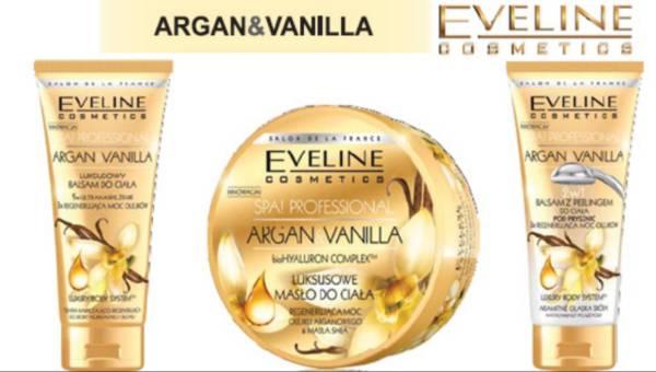Nowość: Argan&Vanilia – nowa seria do pielęgncji ciała od Eveline Cosmetics