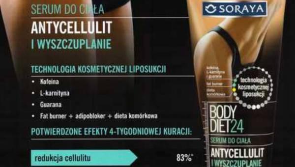 Walczymy z cellulitem oddziaływując bezpośrednio na komórki tłuszczowe – serum do ciała BODY DIET24