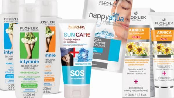 Wakacyjna kosmetyczka – radzi Floslek