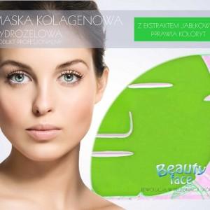 BeautyFace - maska kolagenowa z ekstraktem z jablka