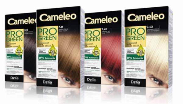 Nowość: Delia Cosmetics – farby do włosów bez amoniaku Cameleo Pro-Green