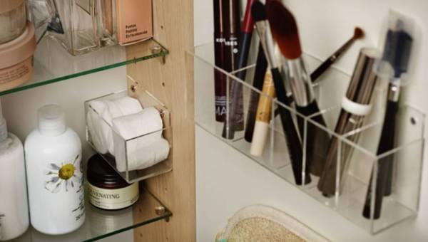 Jak pogodzić minimalizm w łazience z coraz większą liczbą przedmiotów?