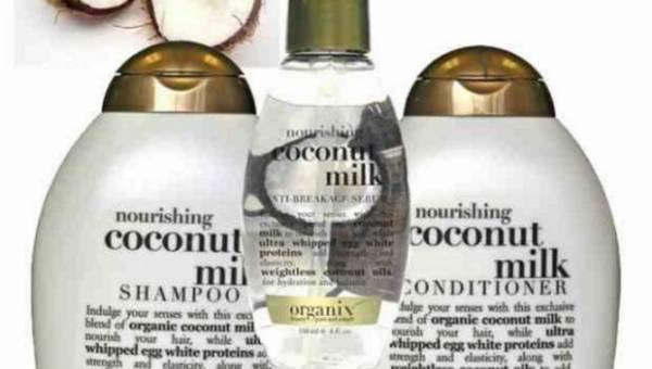 ORGANIX – linia z mleczkiem kokosowym
