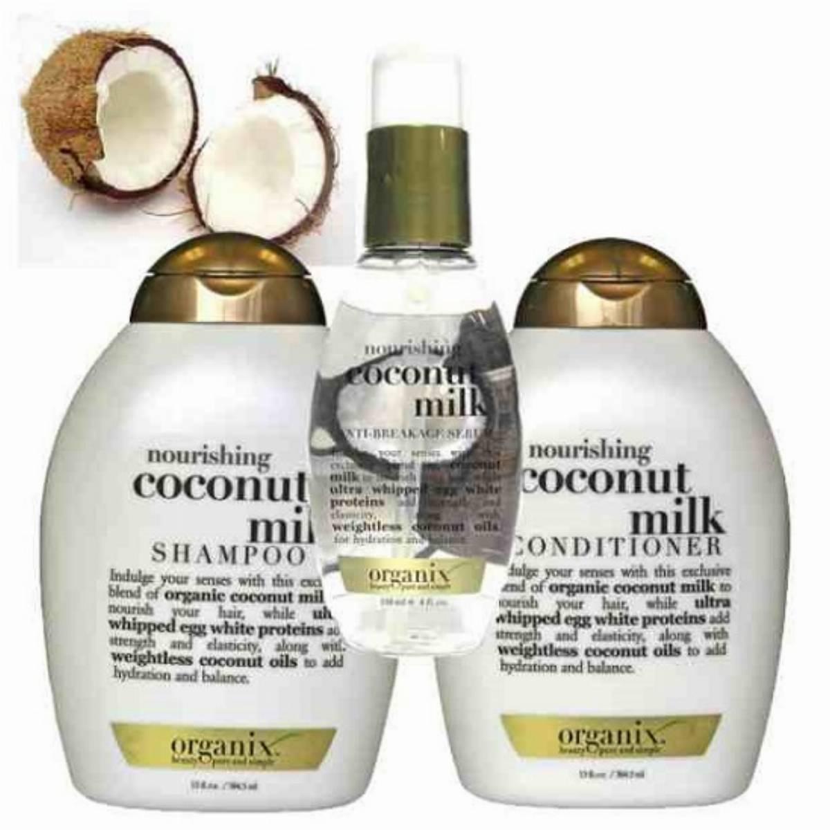 ORGANIX - linia z mleczkiem kokosowym