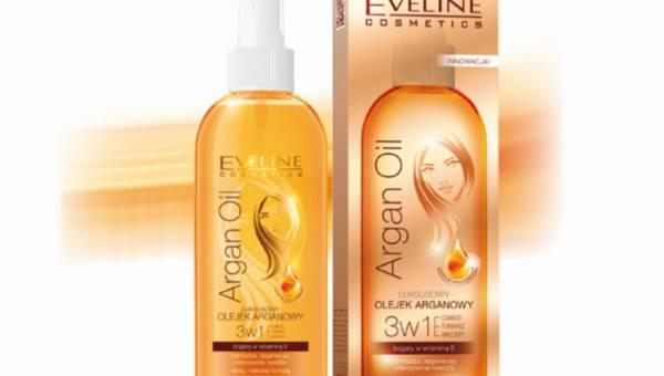 Nowość: Olejek Arganowy 3w1 do ciała, twarzy i włosów Eveline Cosmetics