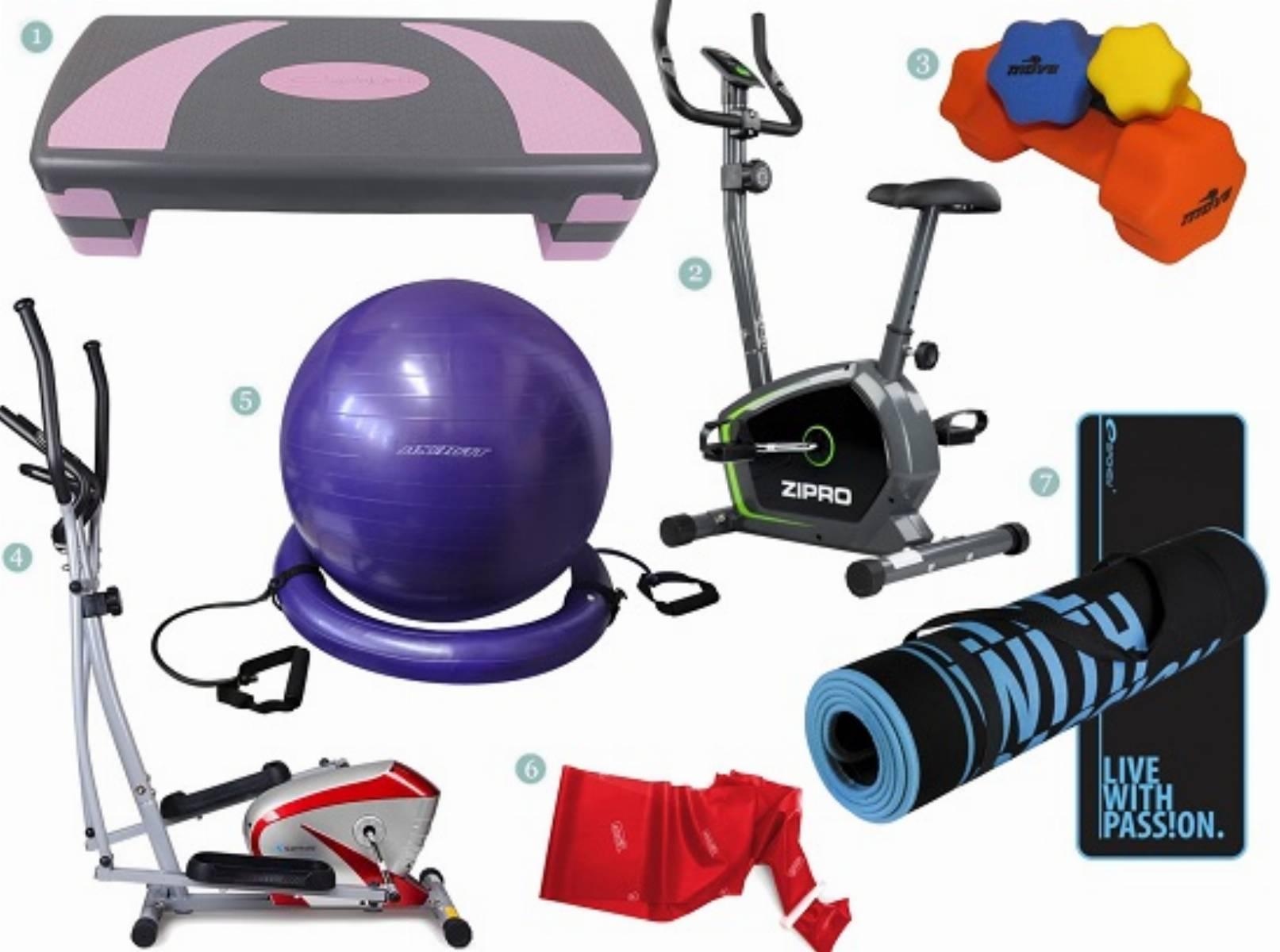 Przyrzady do fitnessu w domu
