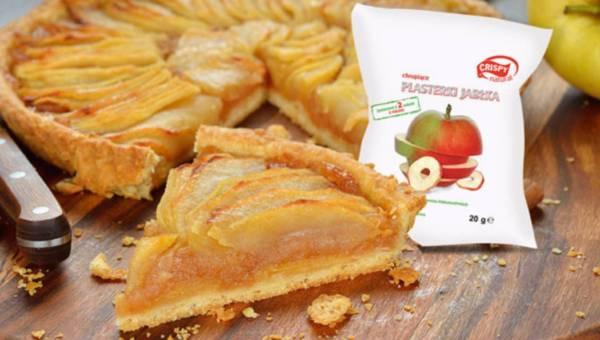 Tarta z jabłkami w stylu fit!