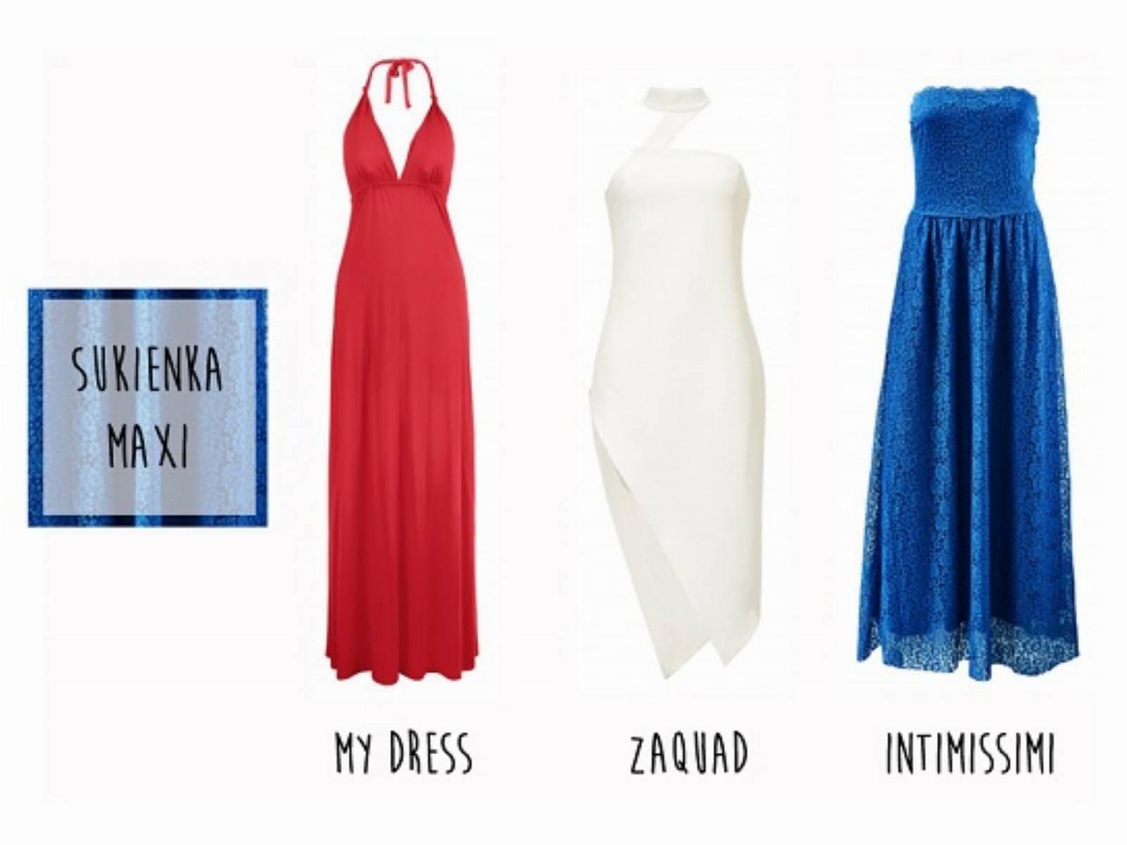 Trendy 2014 - sukienka maxi 2