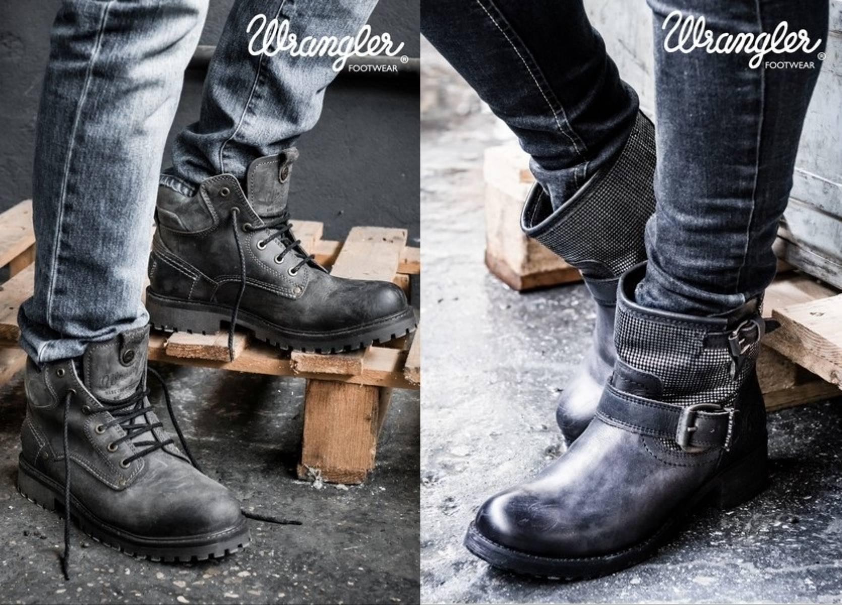 Wrangler Footwear jesien-zima 2014-2015