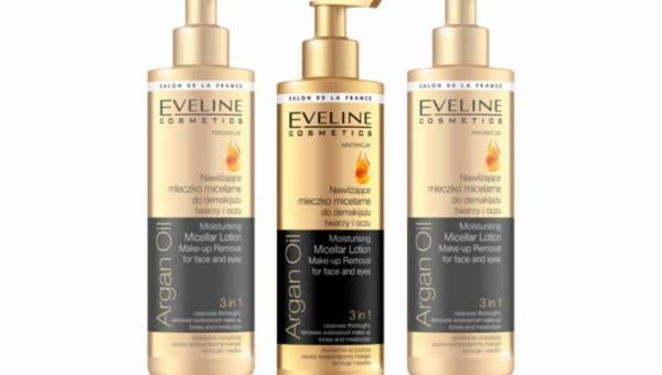 Nowość Eveline: Nawilżające mleczko micelarne do demakijażu – Argan Oil