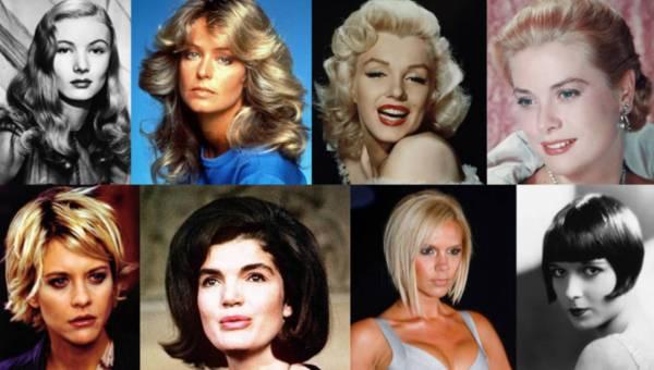 Najpopularniejsze fryzury gwiazd  – powielane przez miliony kobiet na świcie