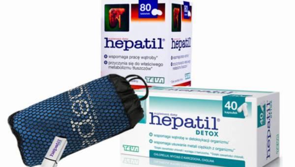 Konkurs: Oczyszczanie organizamu z Hepatil Detox – wygraj zestaw nagród