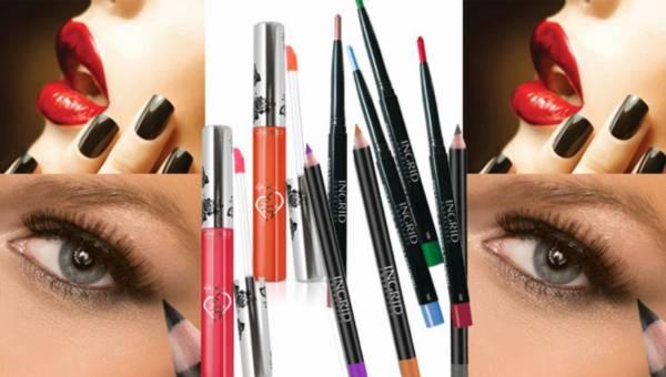 Letnie nowości od Ingrid Cosmetics: pomadki w płynie i kredki do oczu i ust