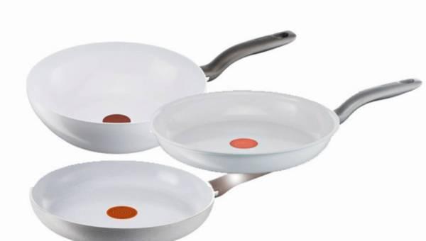 Nowość: Szykowny smak – czyli białe patelnie ceramiczne Tefal
