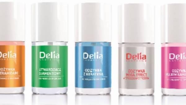 Nowości Delia Cosmetics: linia skutecznych odżywek do paznokci