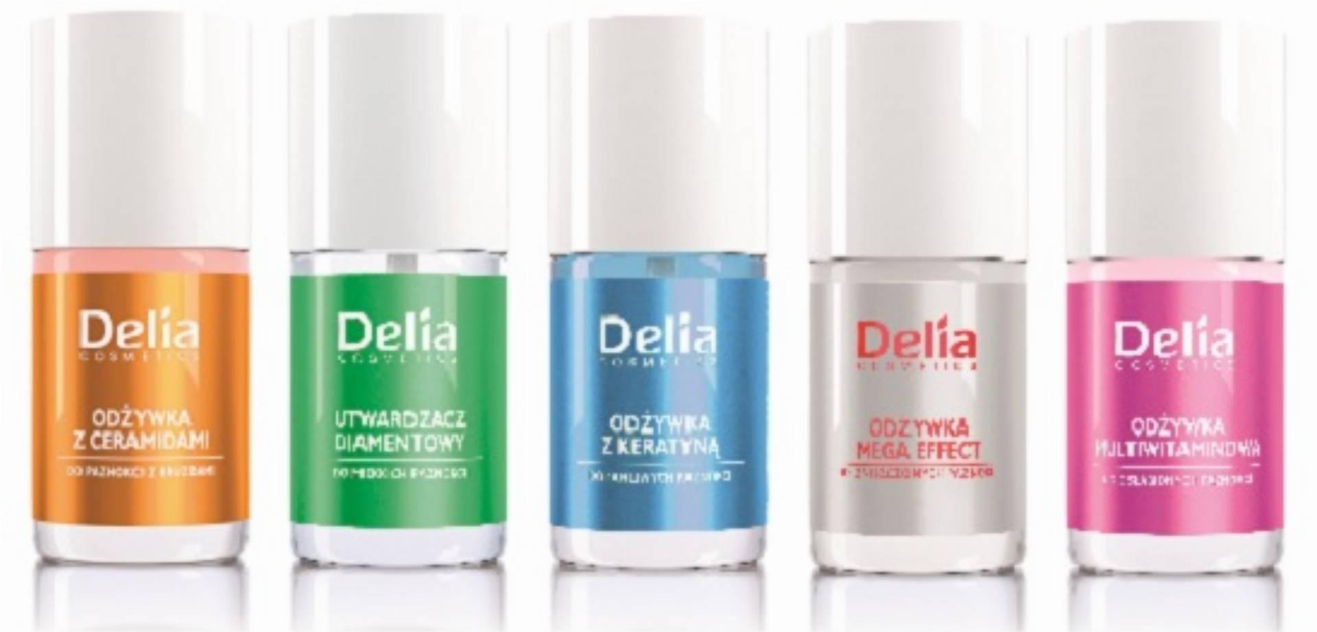 Delia Cosmetics - odzywki Mega Effect